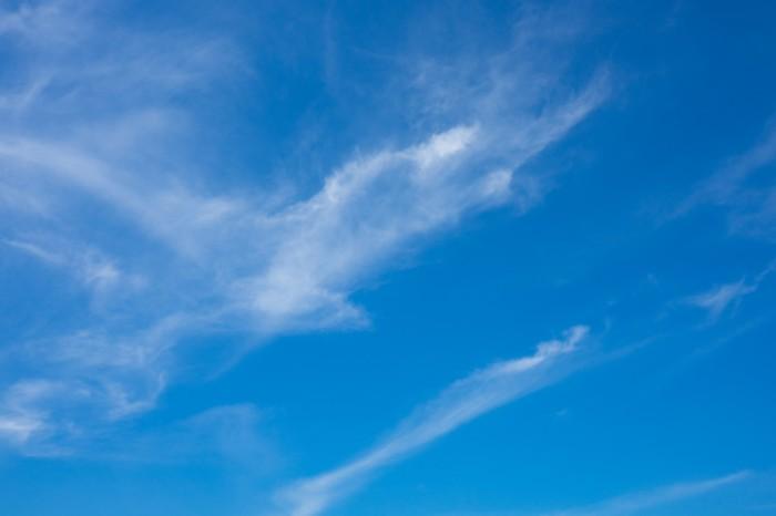 すっきりとした青空