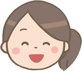 笑顔の女性看護師アイコン